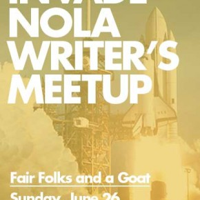 InvadeNOLA Writer's Meetup — This Sunday
