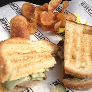 Food Spotlight: Cochon Butcher's Pork Belly Sandwich