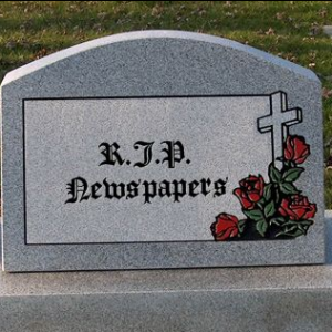 The Newspaper is dead! Long live the news!