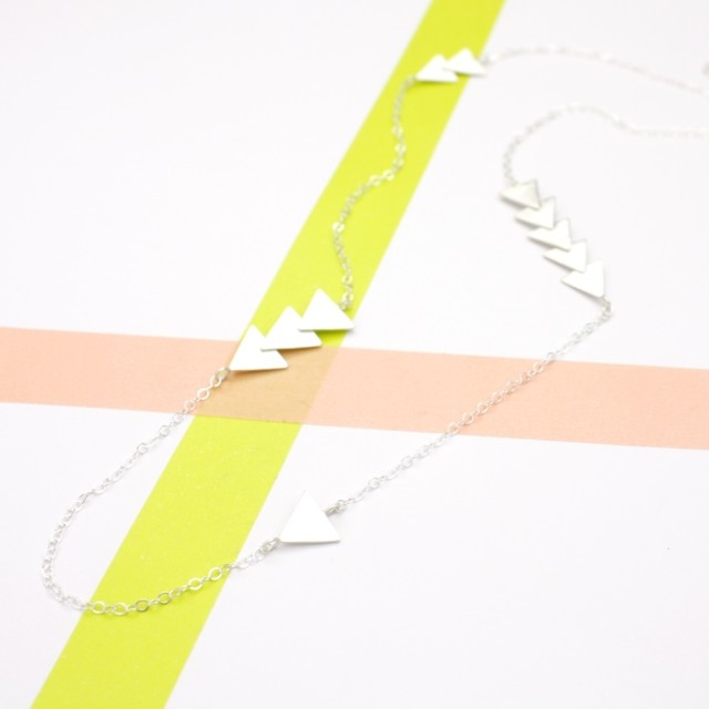 Long Geometry Necklace